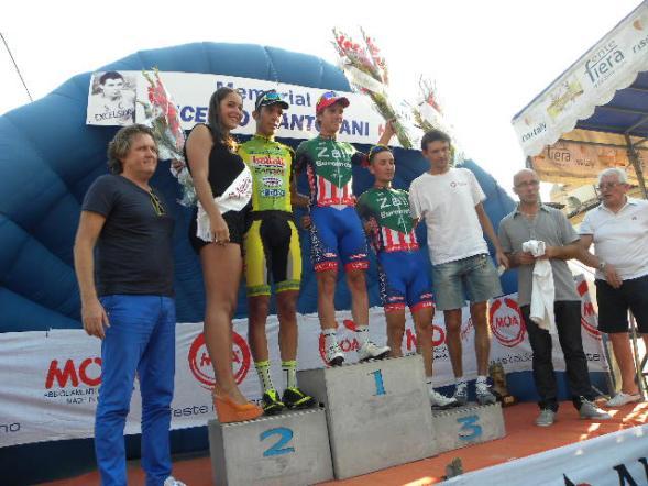 Podio con Corrado Lodi e Pezzini Pres Organizzatore (Foto Nastasi)