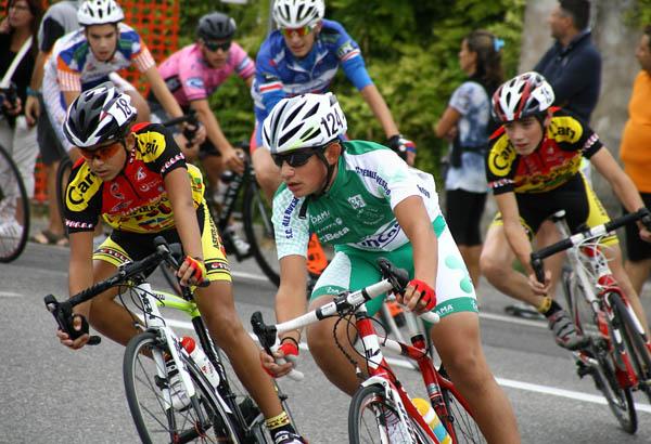 Esordiente 1^ anno Luca Poggi (Pedale Pavese), in gara a Soncino (Foto Berry)