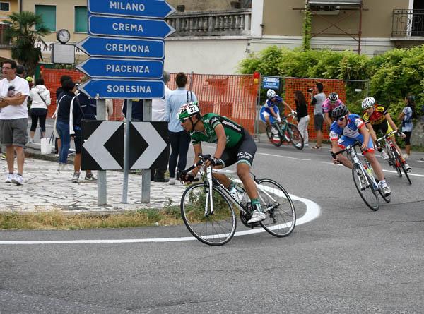 Esordiente Matteo Tosoni - Fase di gara a Soncino (Foto Berry)