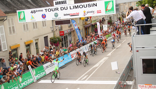Sonny Colbrelli vince 1^ tappa Tour du Limousin in Francia