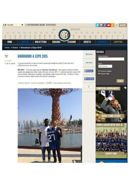 18.08.15 - Comunicato Stampa Gnoukouri