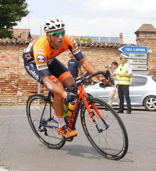 Todaro Manuel in azione a Guazzora (Foto Pisoni)