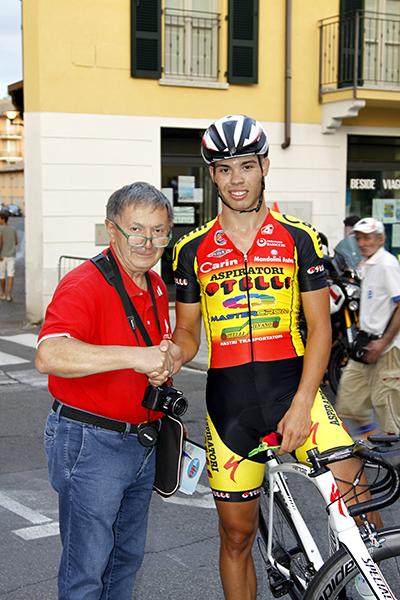 Michele Gazzoli intervistato da Bernardi (Foto Kia)