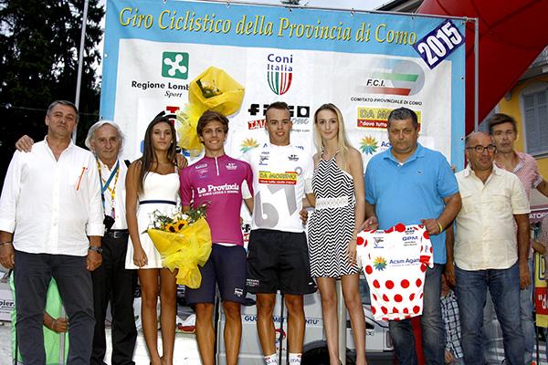Gazzoli e Bosini con Organizzatori (Foto Kia)
