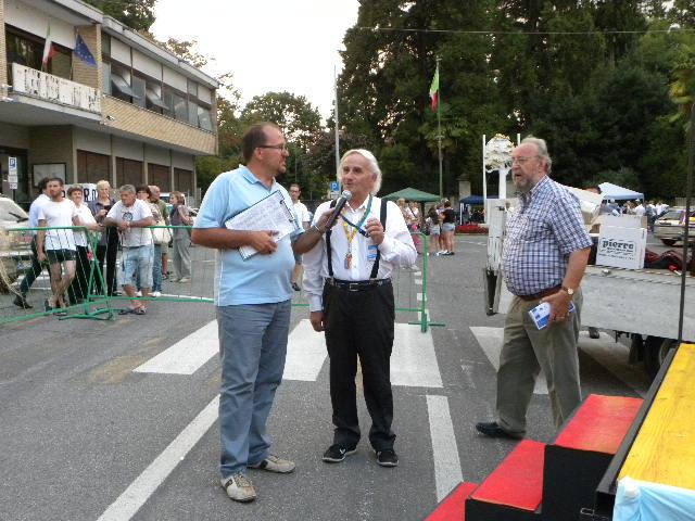 Bettoni Presidente CP FCI Como intervistato (Foto Kia)