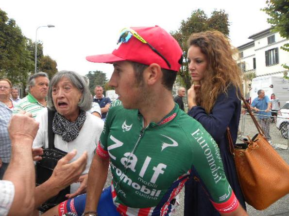 Simone Velasco, 2^ classificato con nonna Lidia e la sua ragazza, Maria