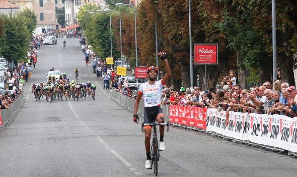 Pierpaolo Ficara vince 64^ GP Colli Rovescalesi-8^ Trofeo Enertrade (Foto Pisoni)