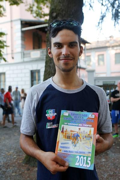 Luca Pacioni leader provvisorio del Bassa Valle Scrivia e Val Curone (Foto Pisoni)