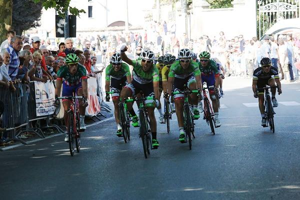 Luca Pacioni vince a Castelnuovo Scrivia (Foto Pisoni)