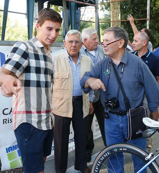 Bonifazio con Bernardi a Castelnuovo Scrivia (Foto Pisoni)