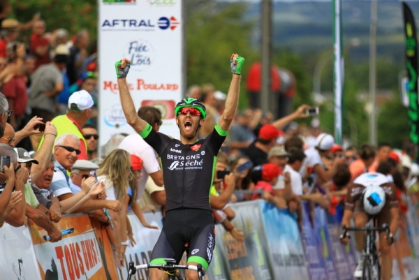 Arnaud vince 1^ tappa (Foto JC Faucher)