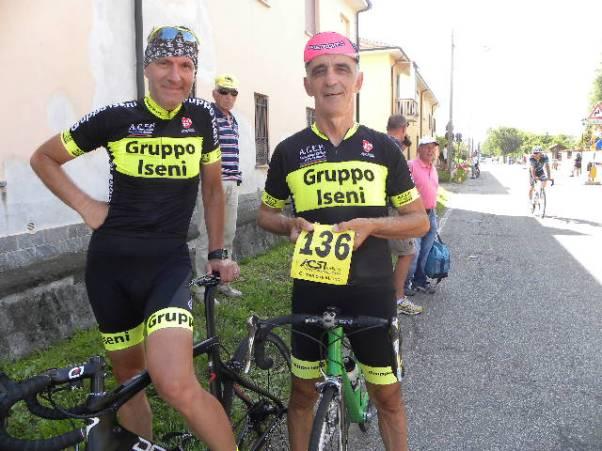 Dr Iseni e Mario Lanzafame a Soriano di Corbetta (Foto Nastasi)