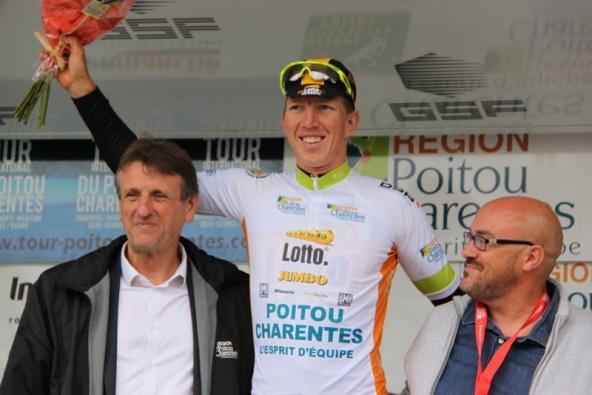Sepp Vanmaercke nuovo leader provvisorio della corsa (Foto JC Faucher)