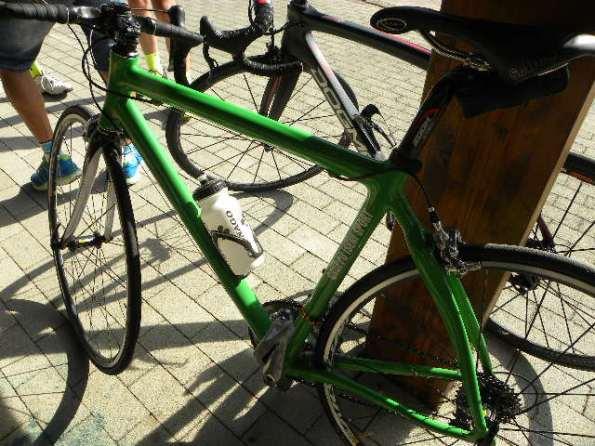 La bicicletta dell'ex Mario Lanzafame (Foto Nastasi)