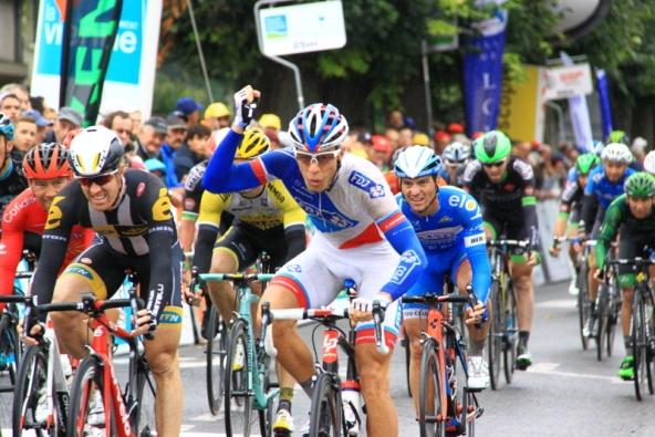 Marc Sarreu, prima vittoria da professionista (JC Faucher)
