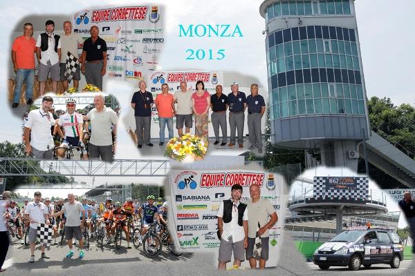 Autodromo Nazionale di Monza - Gara Amatoriale organizzata dall'Equipe Corbettese (Fotocomposizione di Pisoni)