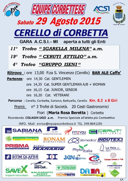 29.08.15 - Cerello di Corbetta