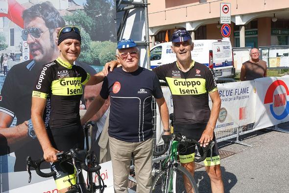 Da sx, Console Fabrizio Iseni, Adriano Zanzi e Mario Lanzafame (Foto Pisoni)