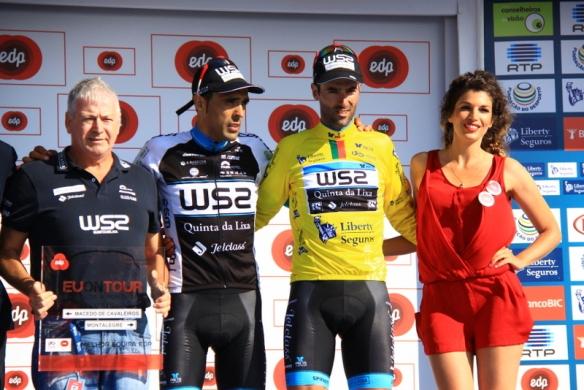 Fernandez e Veloso sul podio di Montalegre (Foto Jean Claude Faucher)