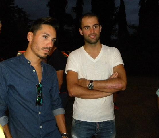 Delle Stelle e Matteo Pelucchi (Foto Nastasi)