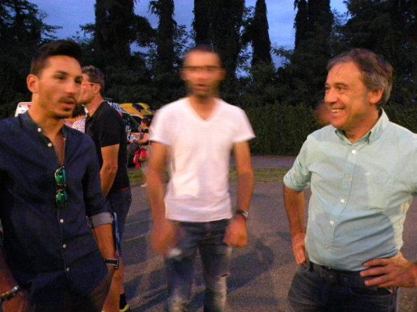da sx Christian Delle Stelle, Matteo Pelucchi e Dr Cacciamani (Foto Nastasi)