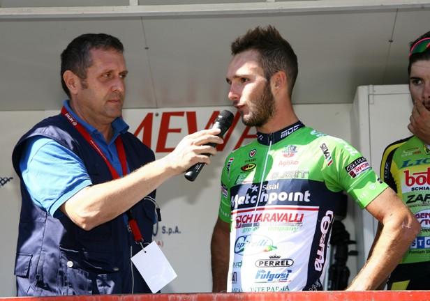 Leonardo Bonifazio intervistato da Graziano Baldoin (Foto Berry)