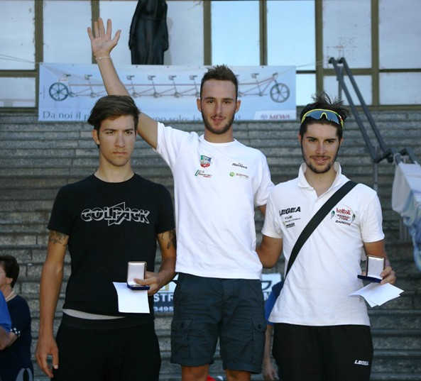 Da sx Lizde, Bonifazio e Marengo (Foto Berry)