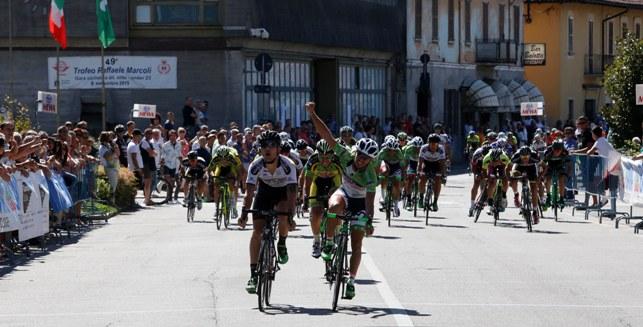 La prima vittoria di Leonardo Bonifazio (Foto di Antonio Pisoni)