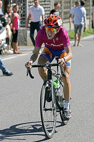 Giovanni Arrigoni in azione (Foto Kia)
