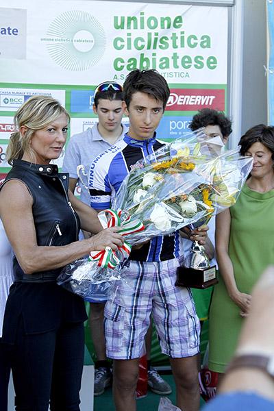 Premiazione di Pier Elis Belletta (Foto Kia)