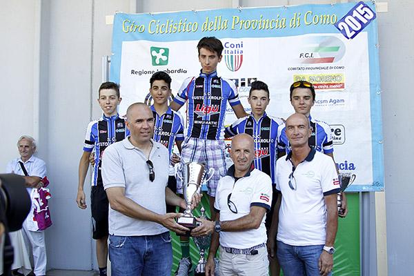 Premiazione SC Busto Garolfo (Foto Kia)
