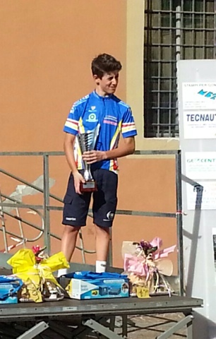 Gabriele Petrelli, Campione Provinciale FCI di Bologna Categoria Allievi