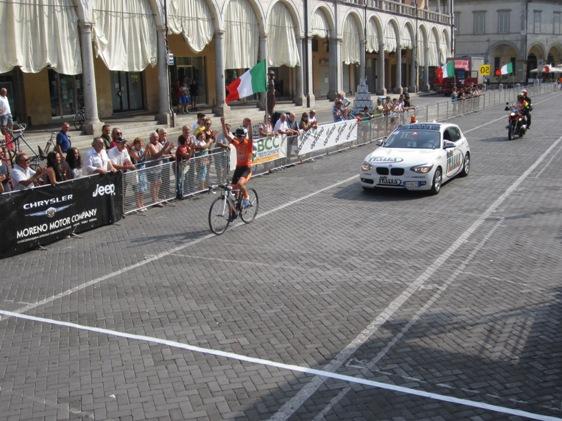 09.08.15 - Savini Daniel arrivo vittorioso a Faenza