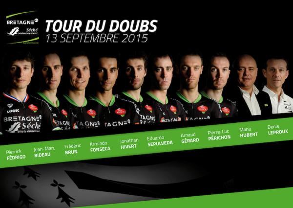 11.09.15 - Corridori selezionati per il Tour de Dubois del 13.09.15