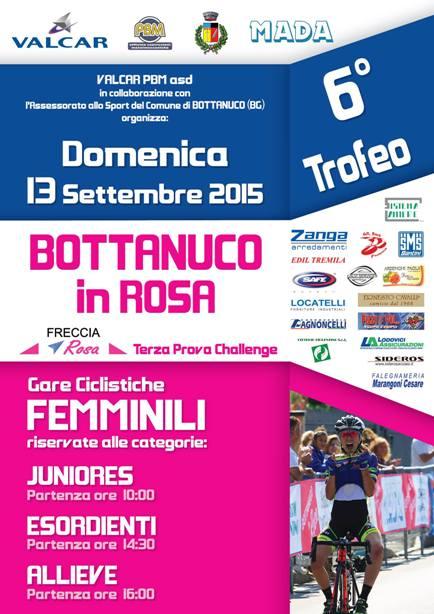 11.09.15 - Locandina Bottanuco in Rosa 2015