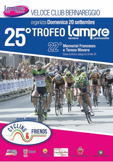13.09.15 - LOCANDINA 25^ TROFEO LAMPRE