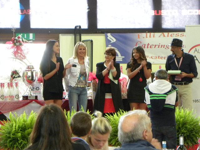 Mara Mosole in rappresentanza del ciclismo femminile (Foto Nastasi)