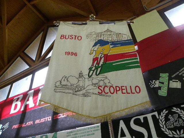 1996 - Primo gagliardetto della Busto-Scopello (Foto di : Nastasi)