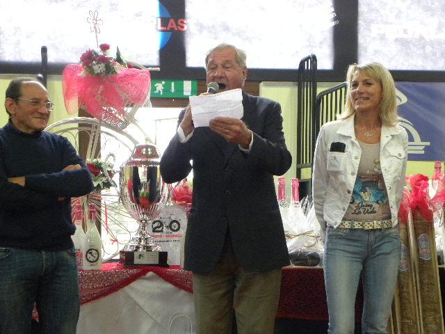 Dino Zandegu^ e il suo inno a Fabio Aru (Foto Nastasi)
