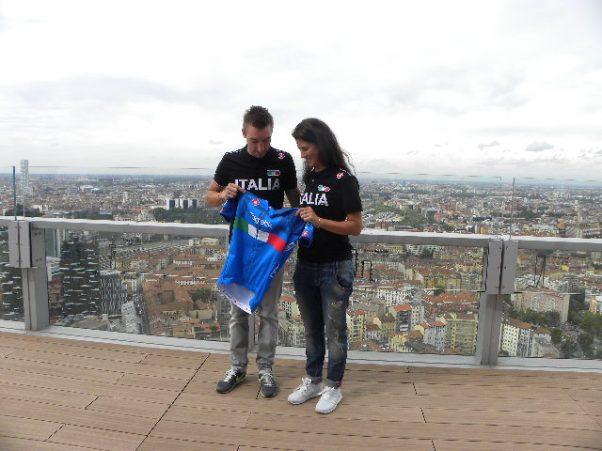 Elia Viviani ed Elena Cecchini