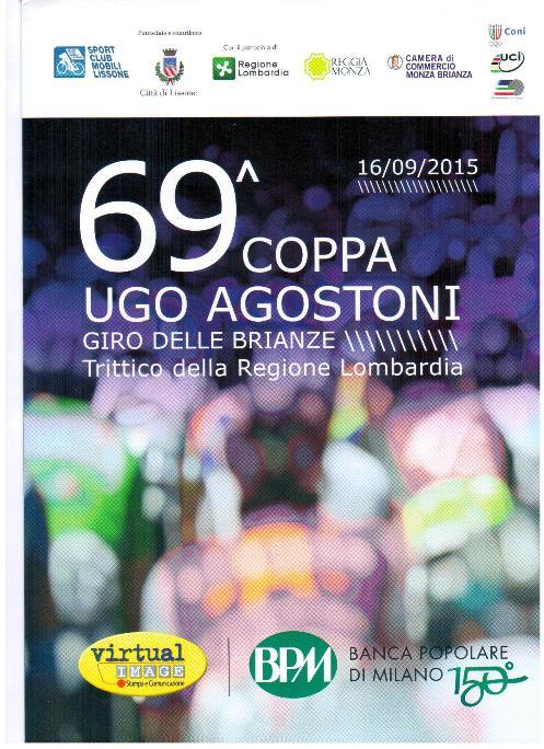 16.09.15 - locandina - 69^ Coppa Agostoni