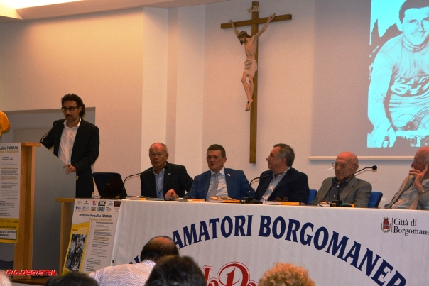 Fabio Marzaglia e i Relatori (Foto cyclo@syste)
