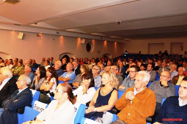 Auditorium Oratorio Don Bosco gremito di Pubblico (Foto cyclo@system)