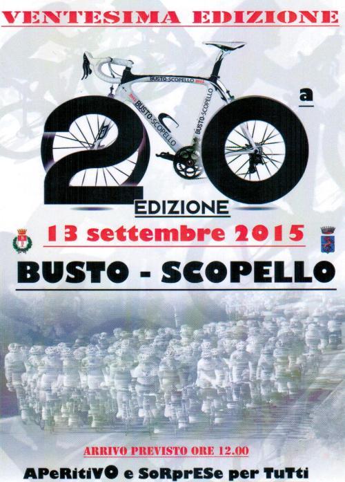 20^ LOCANDINA 20^BUSTO-SCOPELLO