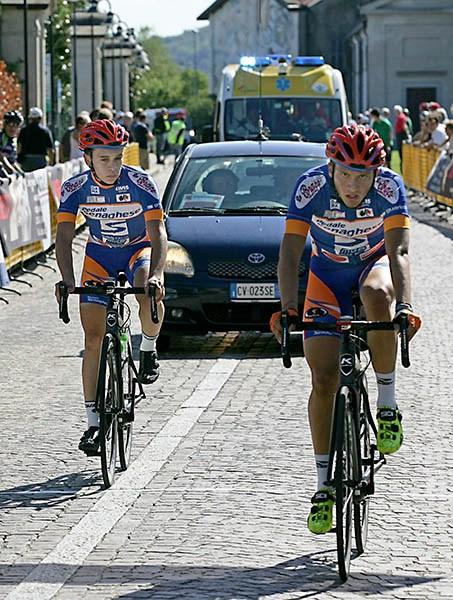 l'arrivo di Andrea Barbierato, 8^ e Tommaso Sironi 9 (Foto Kia)