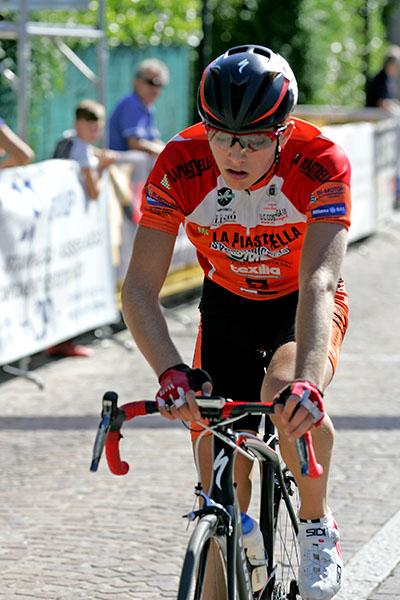 Marco Vergani, 7^ classificato e neo campione provinciale allievi (Foto Kia)