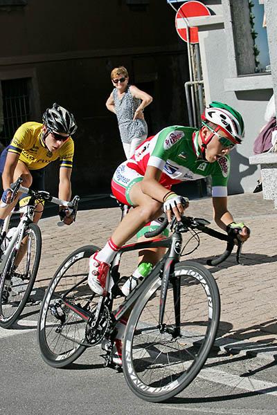Bagioli e Colnaghi in azione (Foto Kia)