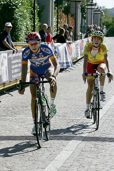 Arrivo di Marco Casarini, 5^ e Alessandro Fancellu, 6^ (Foto Kia)