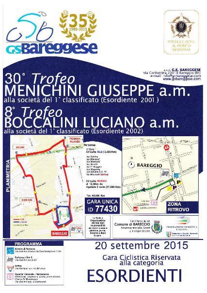 20.09.15 - LOCANDINA 30^ TROFEO GIUSEPPE MENICHINI