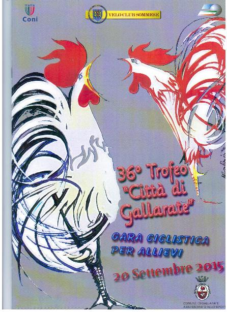 20.09.15 - LOCANDINA 36^ TROFEO CITTA^ DI GALLARATE